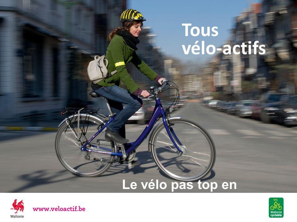 Tous vélo-actifs Le vélo pas top en Wallonie ?