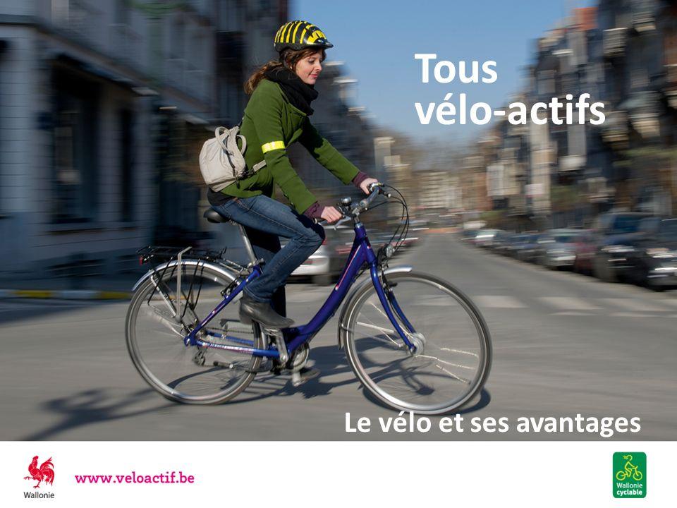 Le vélo est RAPIDE Dès lors : en ville, dans les travaux, les embouteillages, les ralentissements, le vélo se faufile partout le vélo est le mode de déplacement le plus régulier aux heures de pointe Pas de problème de stationnement On sait quand on part et quand on arrive En agglomération en dessous de 5 km, le vélo est le mode de déplacement le plus rapide .