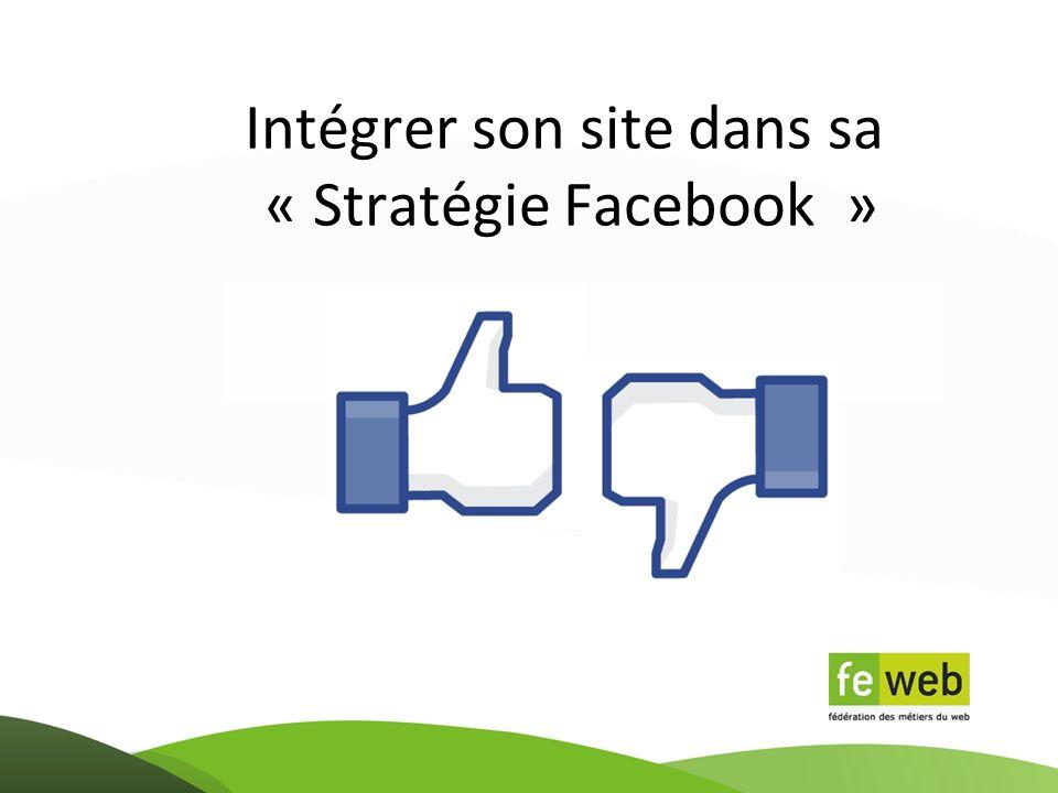 Intégrer son site dans sa « Stratégie Facebook »