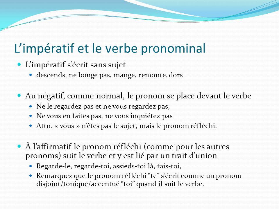 Laccord du pp dans les phrases pronominales: la différence expliquée Le pp saccorde avec le COD (qui/quoi) qui précède le verbe Elle sest lavée, Elle