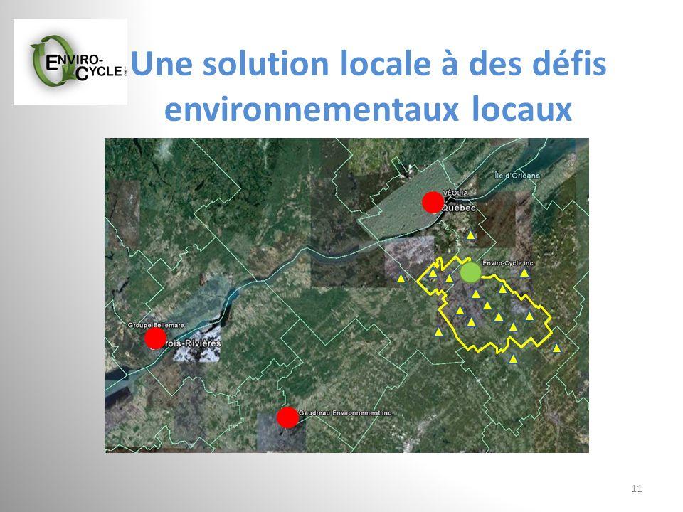 Une solution locale à des défis environnementaux locaux 11