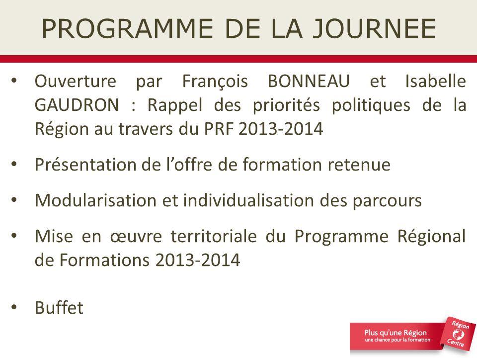 MODULARISATION ET INDIVIDUALISATION DES PARCOURS Anne SEITE-BUDOR Chef du service Qualité et valorisation des actions de formation