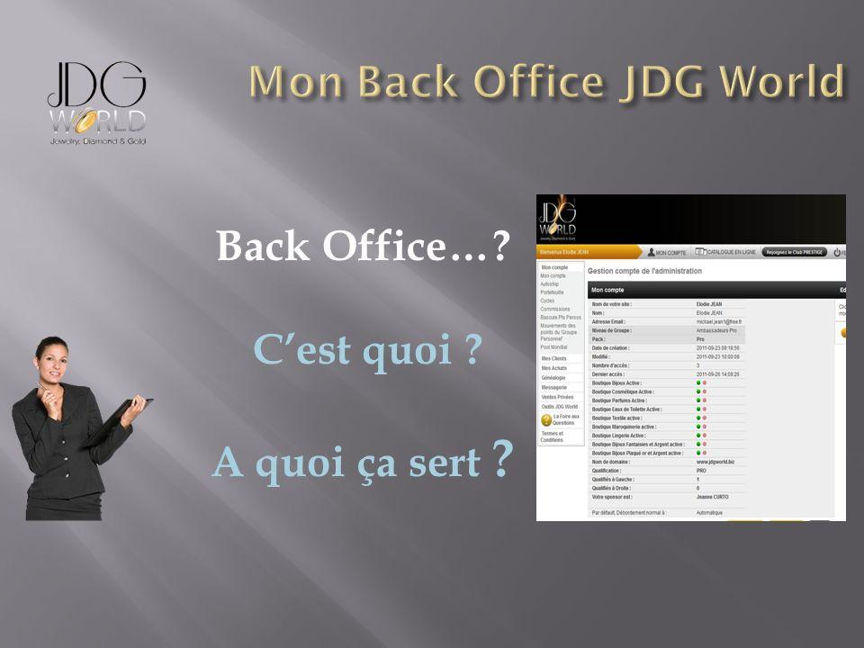 Back Office…? Cest quoi ? A quoi ça sert ?