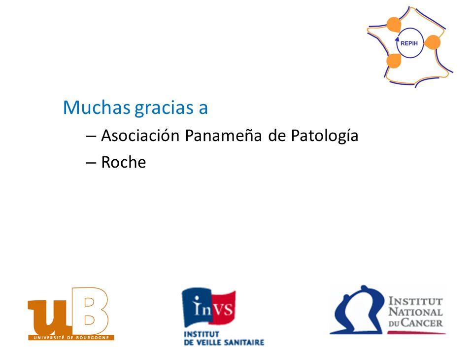 Muchas gracias a – Asociación Panameña de Patología – Roche