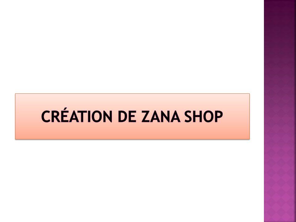 1) Nous avons cherché un nom commercial au magasin pédagogique.