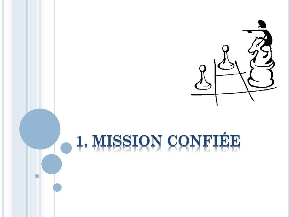 1. Mission confiée 2. Méthode de travail 3. Les jeunes : De qui parle-t-on 4.