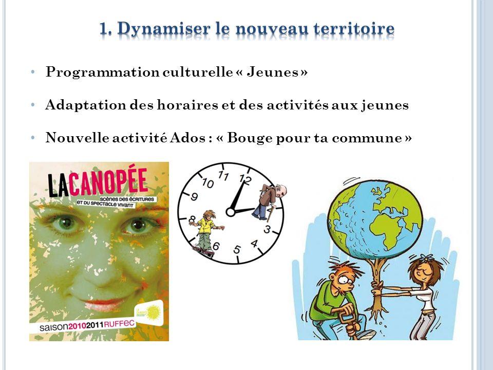 UNSS dans les lycées Réinvestissement de lespace Jeunes de Villefagnan Délocalisation des activités