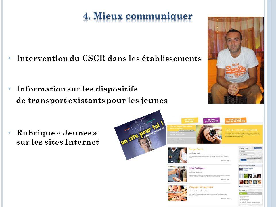 Proposition de contrats saisonniers pour les jeunes Lieu Tremplin « Job Jeunesse » Organisation dune journée citoyenne