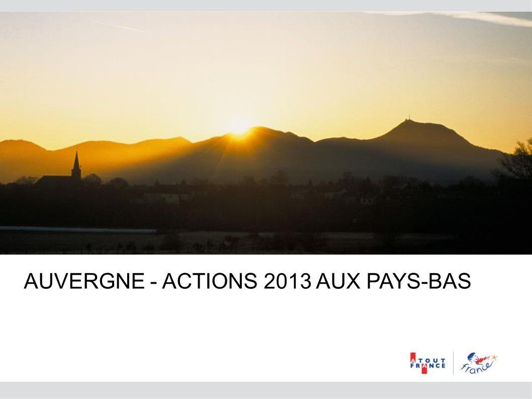 AUVERGNE - ACTIONS 2013 AUX PAYS-BAS