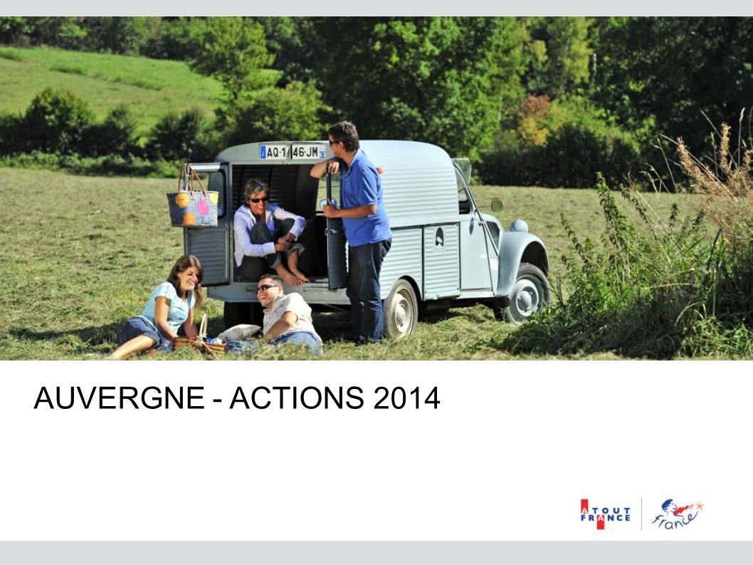 AUVERGNE - ACTIONS 2014