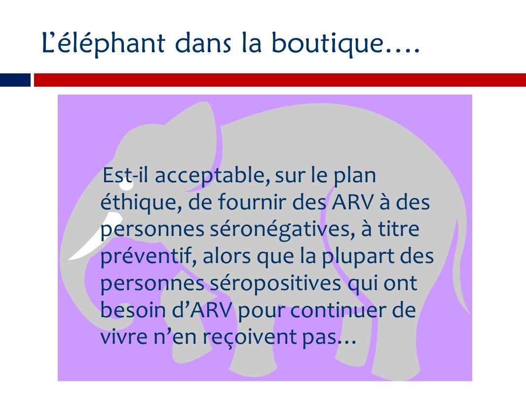 Léléphant dans la boutique….