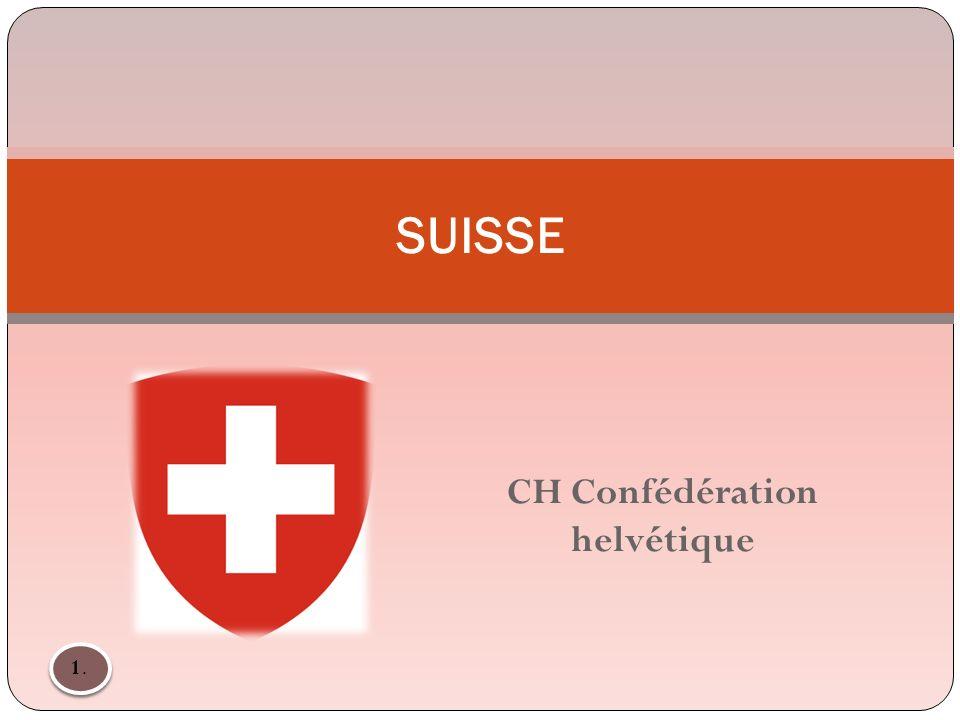 SUISSE CH Confédération helvétique 1.1.
