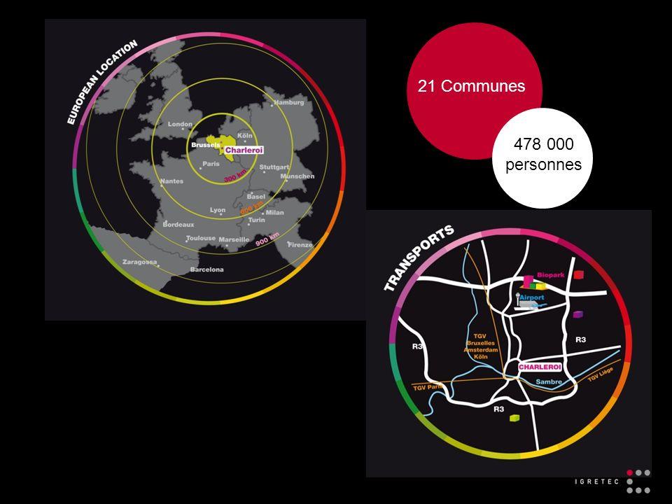 21 Communes 478 000 personnes