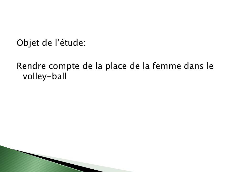 I étude quantitative 1 - les chiffres du volley-ball 2 - portrait de Bourgogne II étude qualitative IIIprospective, la métropole Rhin-Rhône IVdes préconisations Vdes pistes de projets VIdeux propositions