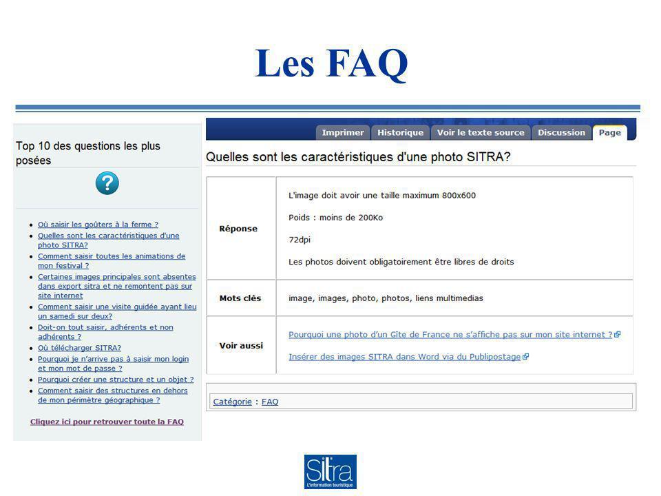 Les FAQ