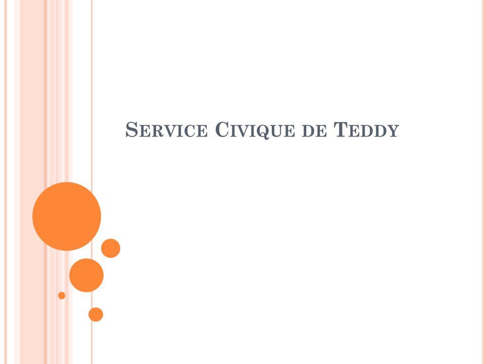 S ERVICE C IVIQUE DE T EDDY