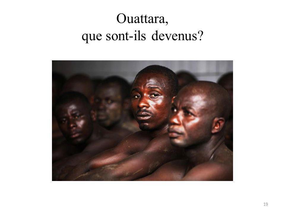 Ouattara, que sont-ils devenus 19