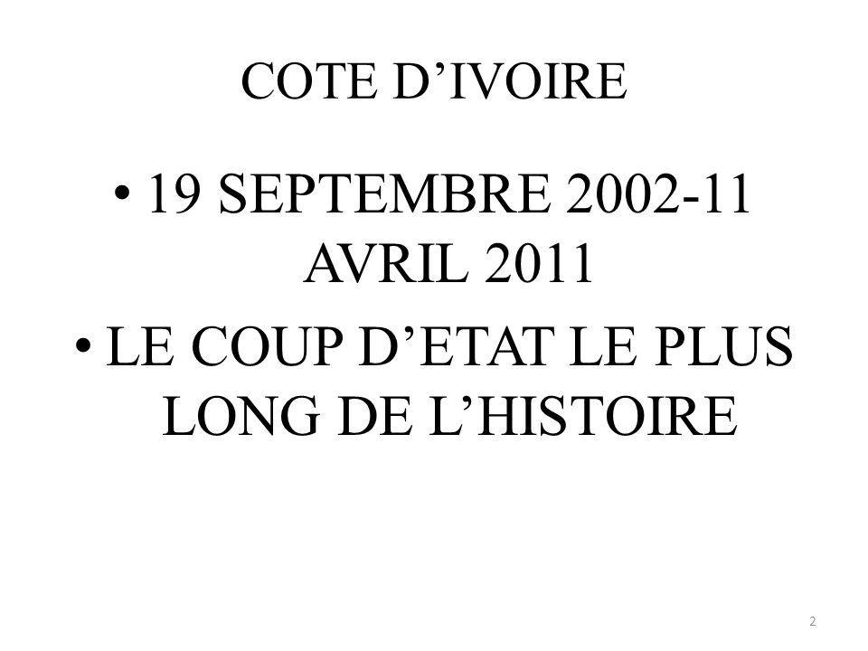 Ouattara, que sont-ils devenus? 23