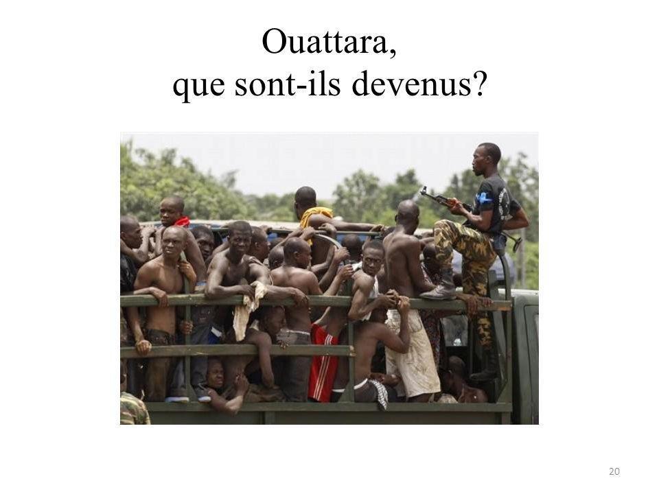 Ouattara, que sont-ils devenus 20