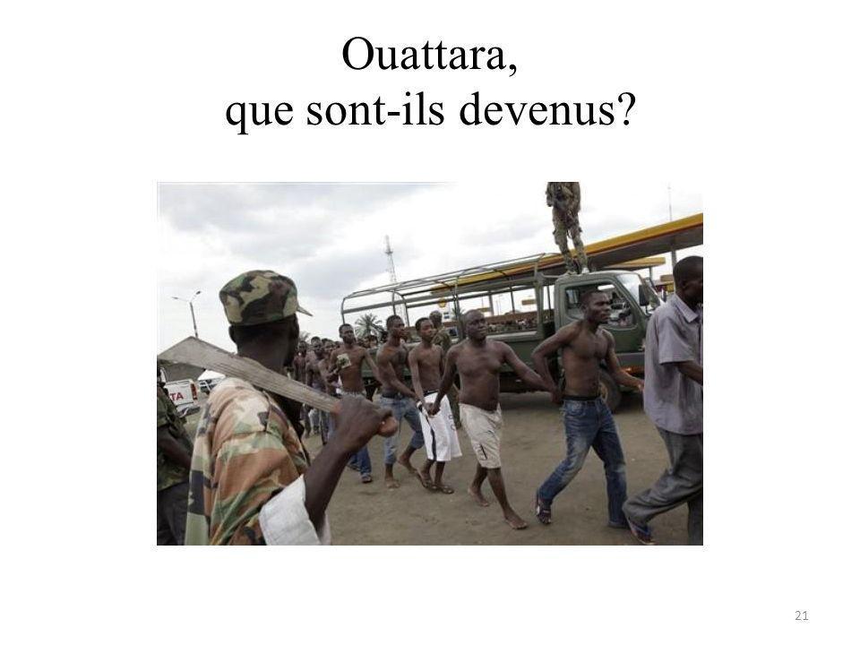 Ouattara, que sont-ils devenus 21