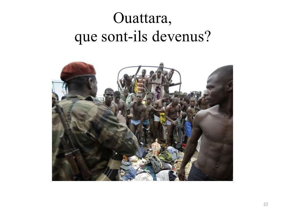 Ouattara, que sont-ils devenus 23