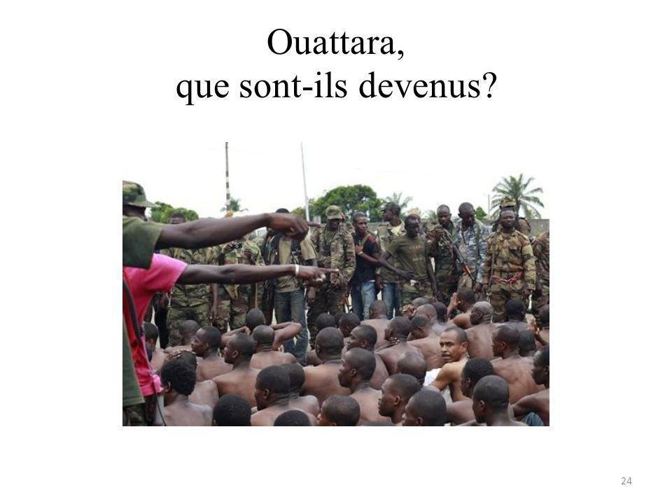 Ouattara, que sont-ils devenus 24