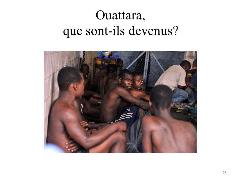 Ouattara, que sont-ils devenus 25