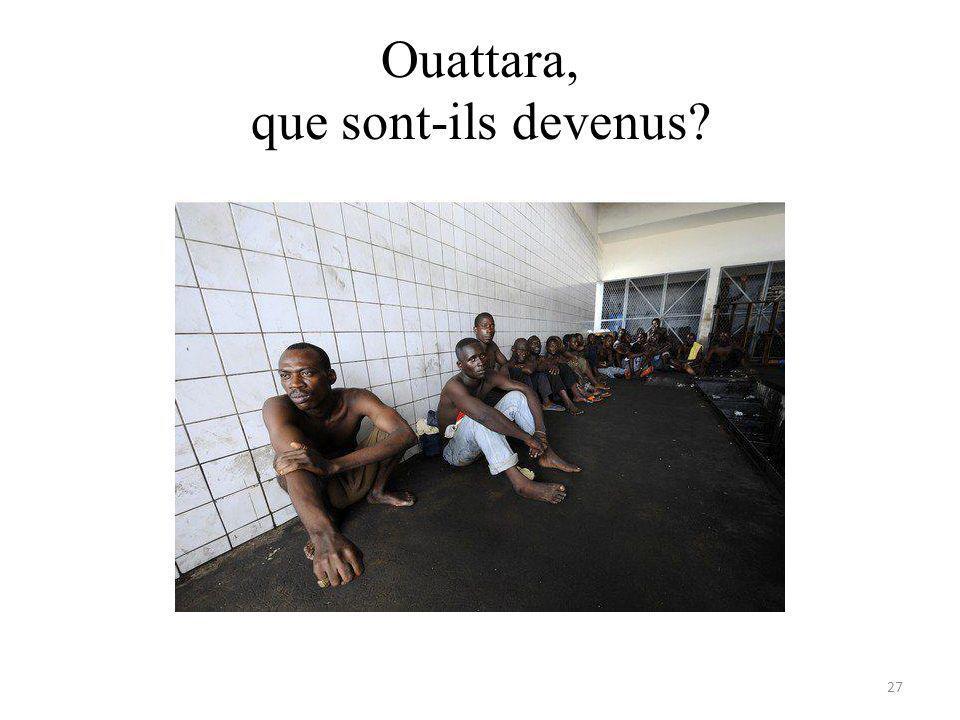 Ouattara, que sont-ils devenus 27