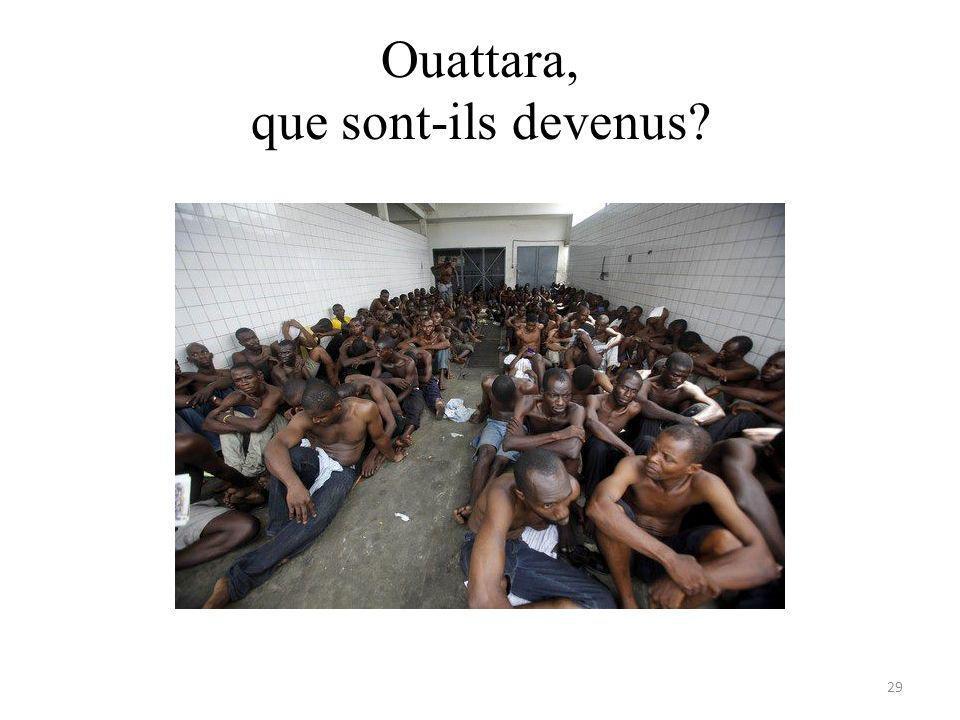 Ouattara, que sont-ils devenus 29