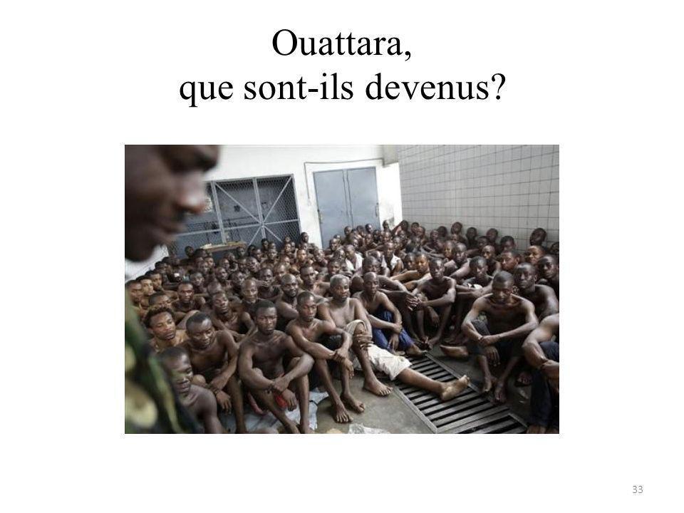Ouattara, que sont-ils devenus 33