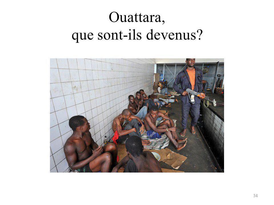 Ouattara, que sont-ils devenus 34