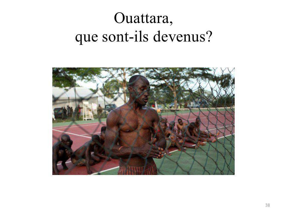 Ouattara, que sont-ils devenus 38