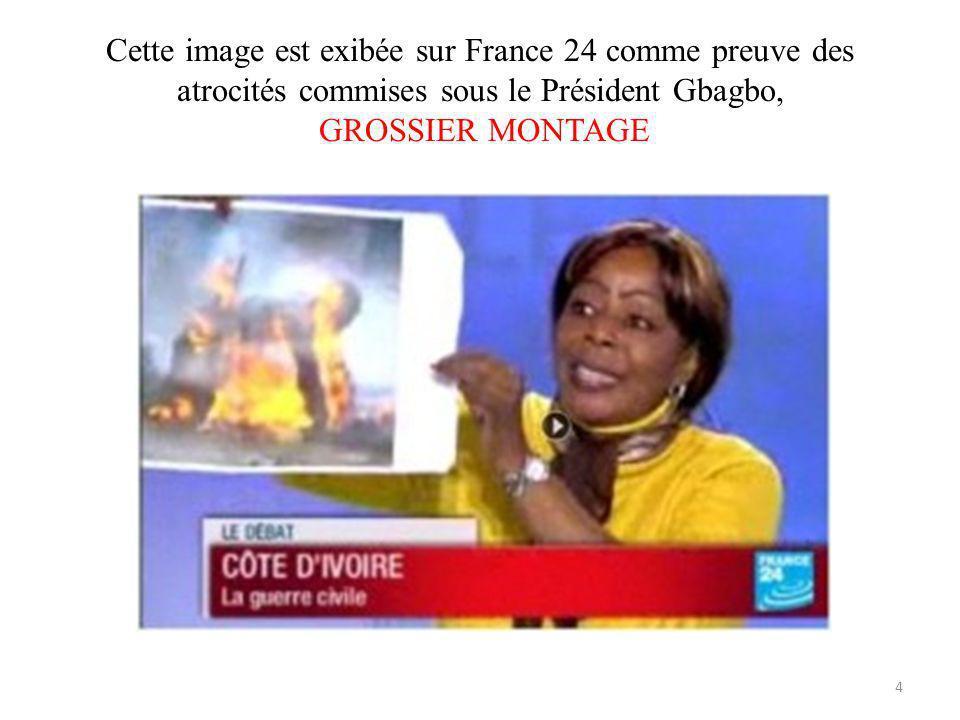 Image volée en Afrique du Sud, par les partisans de Ouattara pour accuser le President Gbagbo datrocité 5
