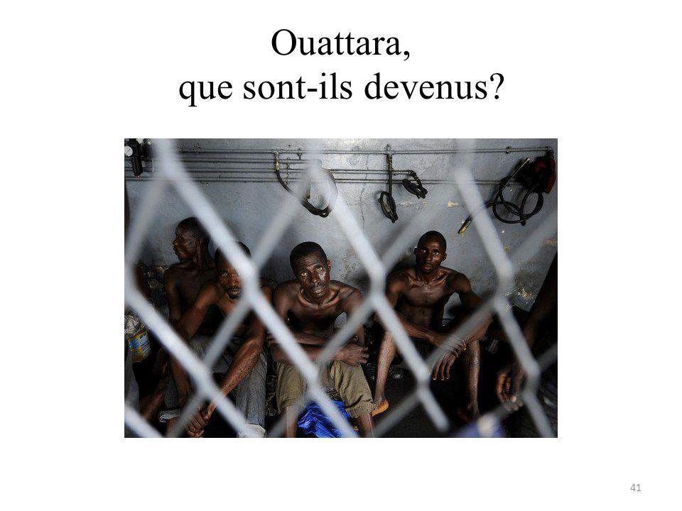 Ouattara, que sont-ils devenus? 41