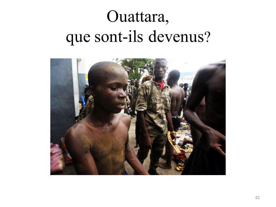 Ouattara, que sont-ils devenus 42