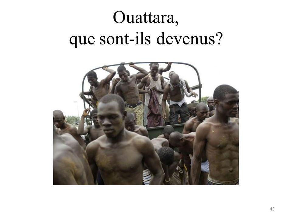 Ouattara, que sont-ils devenus? 43