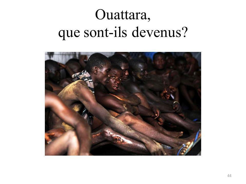 Ouattara, que sont-ils devenus 44