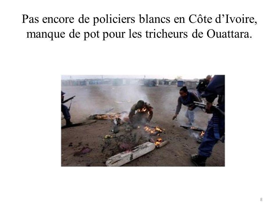 Ouattara, que sont-ils devenus? 39
