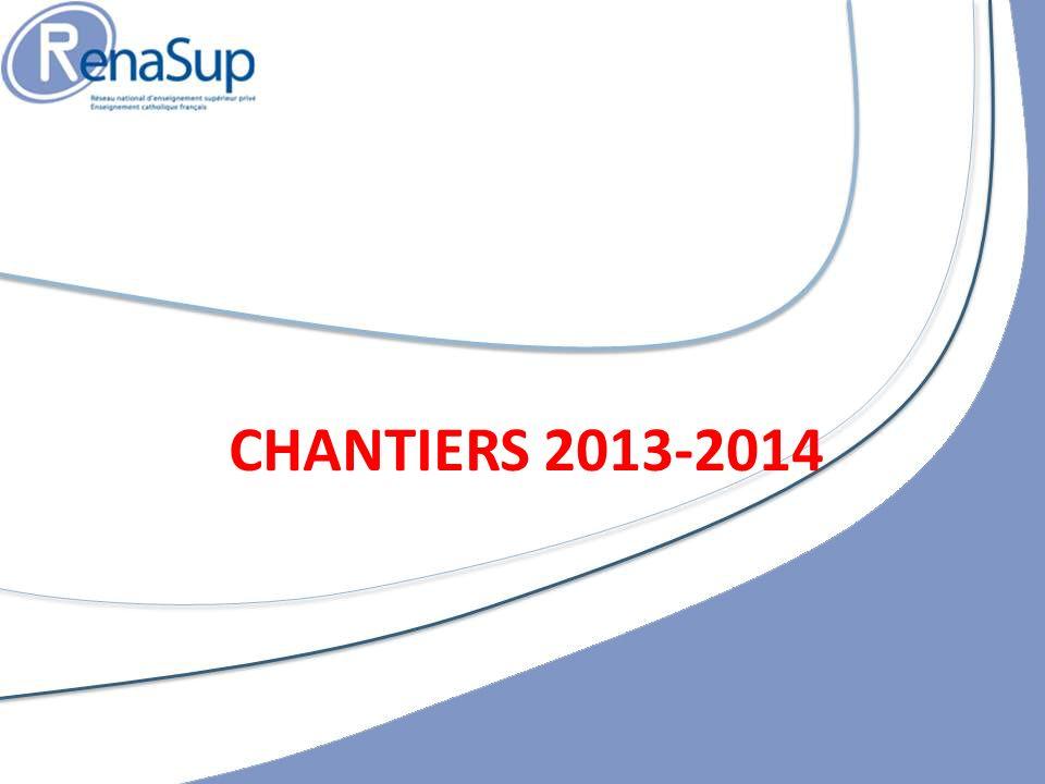 CHANTIERS 2013-2014