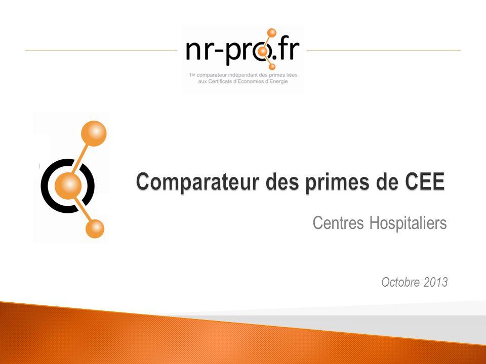 Centres Hospitaliers Octobre 2013