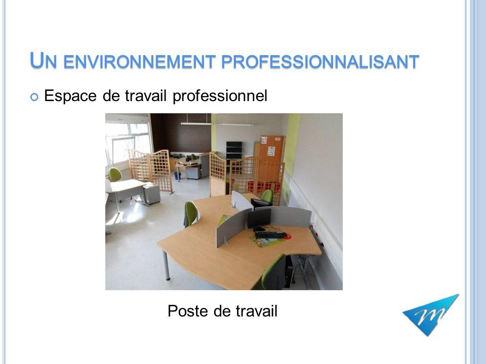 Espace de travail professionnel Poste de travail 10