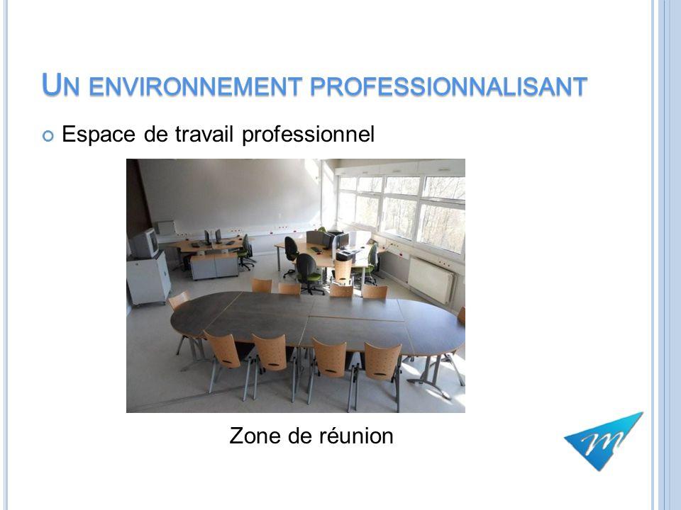 Espace de travail professionnel Zone de réunion 11