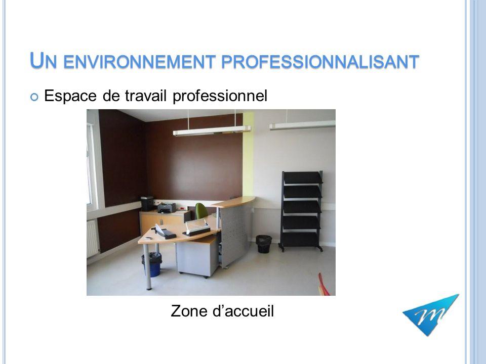 Espace de travail professionnel Zone daccueil 12