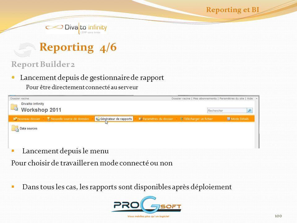 101 Reporting et BI Outils de création de rapport et de déploiement Interface utilisateur averti SQL Server Business Intelligence Development Studio Reporting 5/6