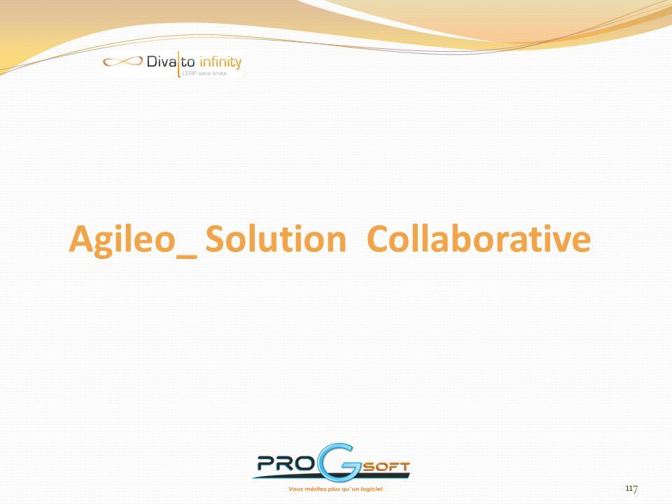 118 Agileo : Solution Collaborative Une solution pour 5 types de portail