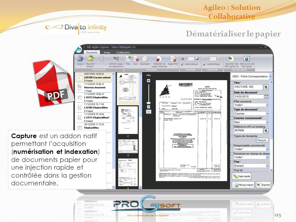 126 Studio DS-agileo Création dun formulaire Agileo : Solution Collaborative