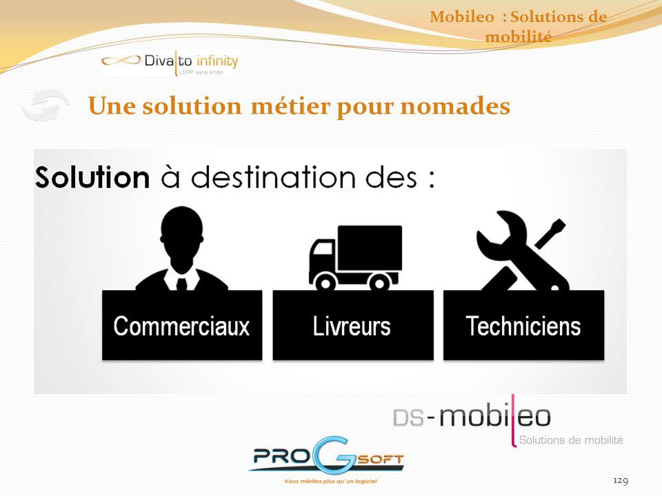 130 Mobileo : Solutions de mobilité Principe de fonctionnement