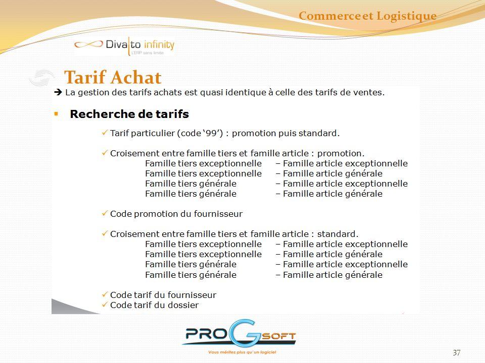38 Remises Achat Commerce et Logistique