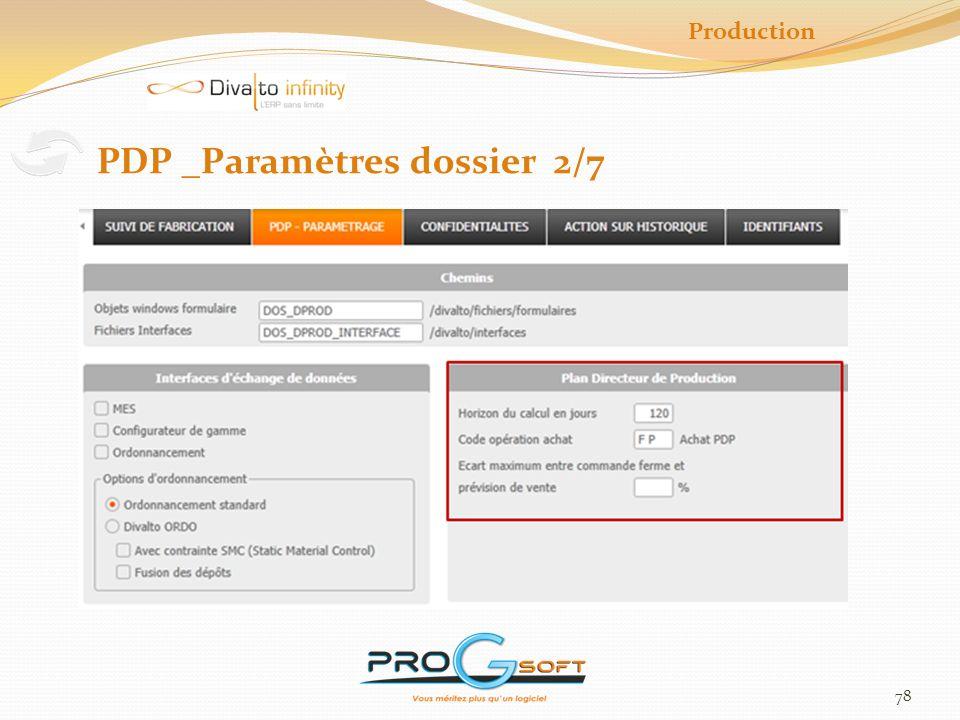 79 Production PDP _Paramètres articles 3/7