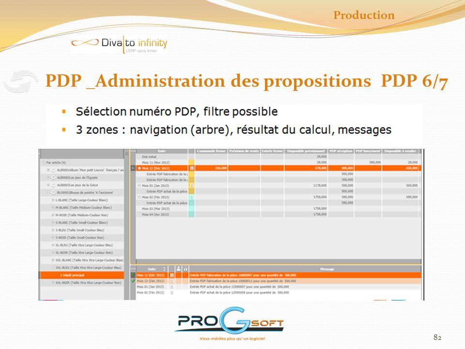 83 PDP _Calcul des besoins et Calcul du PDP 7/7 Production